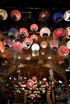 Turkish lanterns - Istanbul- this makes me happy!