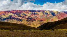 Mountain of 14 colors near Humahuaca by Hubert Zęgota on 500px
