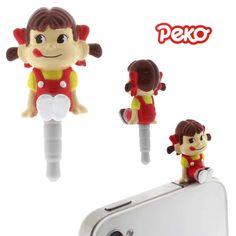 *new* Peko-chan plugy by the little dröm store, via Flickr