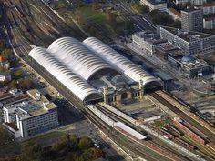 Der Hauptbahnhof in Dresden