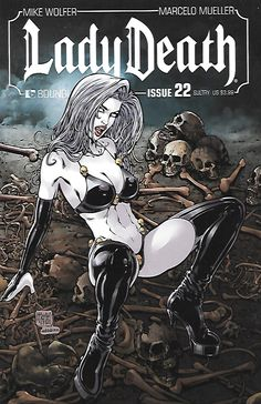 Written By Mike Wolfer , Art Marcello Mueller , cover Art Matt Martin , The traumatic events which led to the transformation of Hope into Lady Death are revealed! Somehow, under the bizarre direction