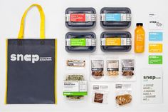 Brand Identity & Packaging System for Snap by Pentagram.
