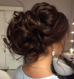 Suggestions regarding awesome looking hair. An individual's hair is without a doubt exactly what can easily define you as a person. To the majority of people it is undoubtedly vital to have a good hair style. Unique Wedding Hairstyles, Formal Hairstyles, Bride Hairstyles, Cool Hairstyles, Hairstyle Ideas, Bridesmade Hairstyles, Hairstyle Wedding, Hairstyle Tutorials, Wedding Hair And Makeup