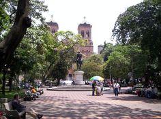 Plaza Bolivar, Medellin, Colombia