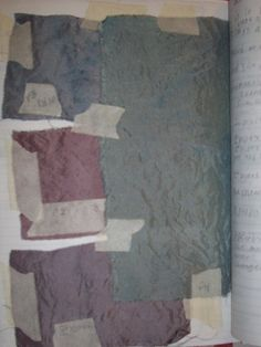 If it aint written down it didn't happen! Keeping a dye journal for repeatable colour - Wearing Woad How To Dye Fabric, Fabric Art, Fabric Design, Dyeing Fabric, Viking Reenactment, Home Design Diy, Natural Dyeing, Gelli Printing, John Muir