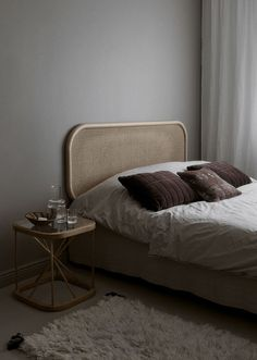 Calm and moody bedroom