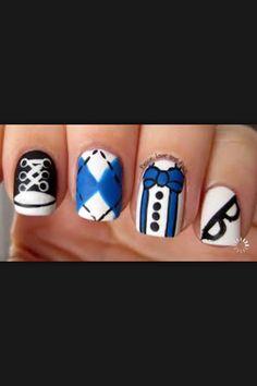 Nerdy nails