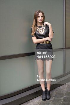 Lucy Watson is seen wearing a New Look…