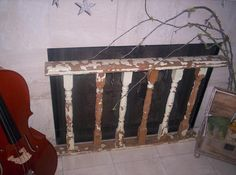Spindle Fireplace Screen