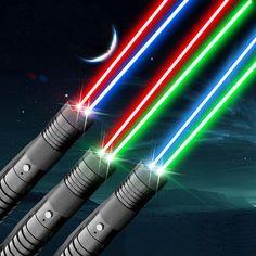 Produits aver trois types de deux couleurs: 1) lumière rouge et vert; 2) lumière rouge et bleu; 3) lumière vert et bleu. J'aime les lasers de haute puissance laserpuissant.com.