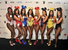 NDIANAPOLIS, IN - FEBRUARY 03: Playboy Bunnies attend the 2012 Playboy Party hosted by Bud Light Hotel at Bud Light Hotel on February 3, 2012 in Indianapolis, Indiana. (Photo by Stephen Lovekin/Getty Images for Bud Light Hotel)(735×540)