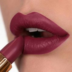 """This babe is one of your favorites of the GOLDUST collection """"Arabesque"""" Diva Crime lipstick by @mrdanielmakeup #NABLA #NablaCosmetics"""