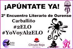 #2ELO #EncuentroLiterariodeOurense ¿Te apuntas?