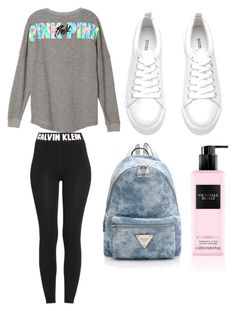 """""""Untitled #3"""" by emilyharwoodx on Polyvore featuring Calvin Klein and Victoria's Secret"""