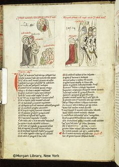 Speculum humanae salvationis, MS M.140 fol. 39v - Images from Medieval and Renaissance Manuscripts - The Morgan Library & Museum