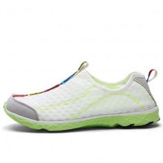 White Mesh Water Shoes For Men