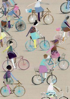 Bike Arte   Ilustração Voadora (2014) - Elisa Carareto