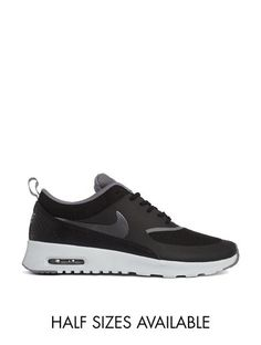 Nike Air Max Thea Black Trainers - Black
