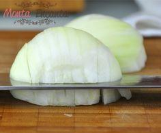 Aprenda como cortar cebola brunoise