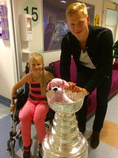 Olli's day with the cup.