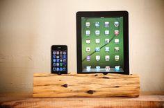 woodtec iPhone & iPad docking station