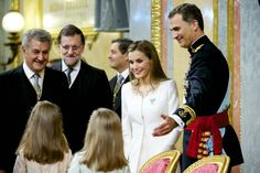 Official coronation ceremony of King Felipe VI in Madrid. - Ceremony in the  Parliament