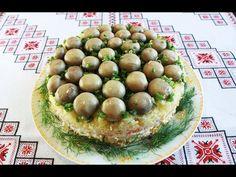 """Салат """"Грибная поляна"""" с шампиньонами - пошаговый рецепт с фото на Повар.ру"""