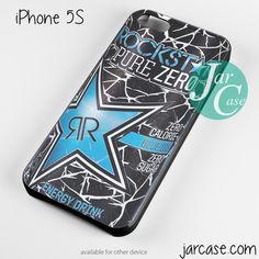 rockstar energy drink blue pure zero Phone case for iPhone 4/4s/5/5c/5s/6/6 plus
