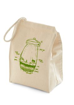 Cute idea for a reusable lunch bag
