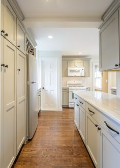 love the ocean floor color on the martha stewart kitchen cabinets