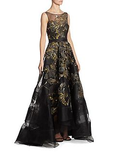 2cdaf53c201 Marchesa - Embellished A-Line Dress. Saks Fifth AvenueMarchesaElegant  DressesEvening ...
