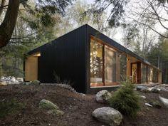 Casas en la naturaleza – casas de campo contemporaneas – Sinergia y materiales