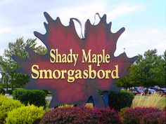 Shady Maple Smorgasbord - Deliciously Authentic PA Dutch Cooking - Massive Buffet! yum!