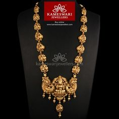 Traditional gold necklaces for women from the house of Kameswari. Shop for antique gold necklace, exquisite diamond necklace and more! Gold Jewelry Simple, Gold Jewellery Design, Necklace Online, Schmuck Design, Gold Necklace, Gold Choker, Diamond Necklaces, Diamond Choker, Choker Necklaces