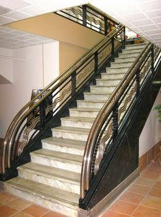Art Deco Staircase from a grand old department store in France