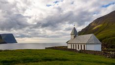 Viðareiði Photos, Cabin, Mountains, House Styles, Nature, Travel, Home Decor, Viajes, Pictures