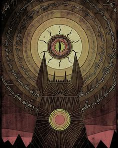 Barad-dûr #tolkien #lotr #thelordoftherings