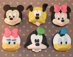 So Cute Mickey,Minnie,Pluto,Daisy,Goofy,and Donald!
