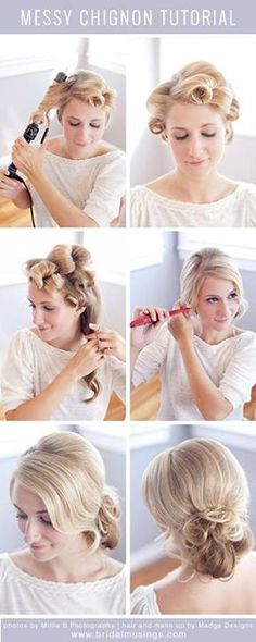 Wast to do cute up style #hairstyles #hair #love