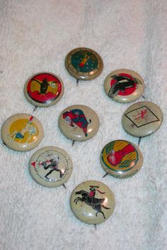 9 World War 2 Squadron, KELLOGG'S Pinback Buttons  Bought for $8.00 sold for $20 Total now $7,244