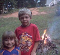 My Grandnephew Taylor and Grandniece Callie..