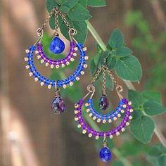Free Earring Project Tutorial | Bollywood Earrings | Beadshop.com