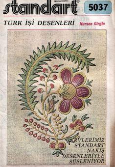 Turk work embroidery book...