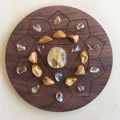 °3rd Solar Chakra Crystal Grid