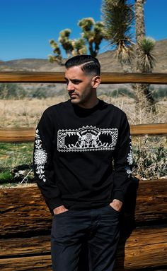 Click To Get Your Rockstar Gear | Wear drinking skeletons and Latin American inspired art on your sleeves