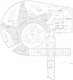 Level two plan Viking Age Museum in Oslo Norway by AART cultural architecture news