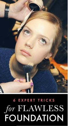6 Professional Tricks for Flawless Foundation