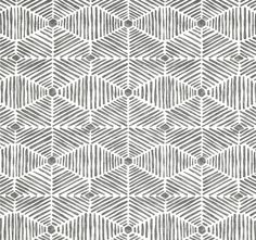 Grey Home Decor Fabric by the Yard Designer Tribal by CottonCircle