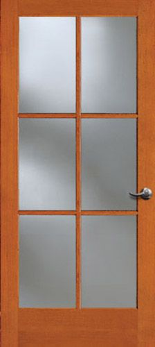 New Doors from Simpson | Browse Door Types and Styles (possible study door with waterglass)