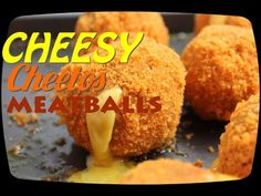 This Meatball Is Stuffed With Gooey Cheese And Coated In Cheetos